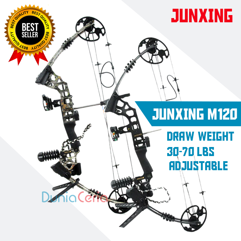 Busur Panah Junxing M120 Compound Bow Dunia Ceria